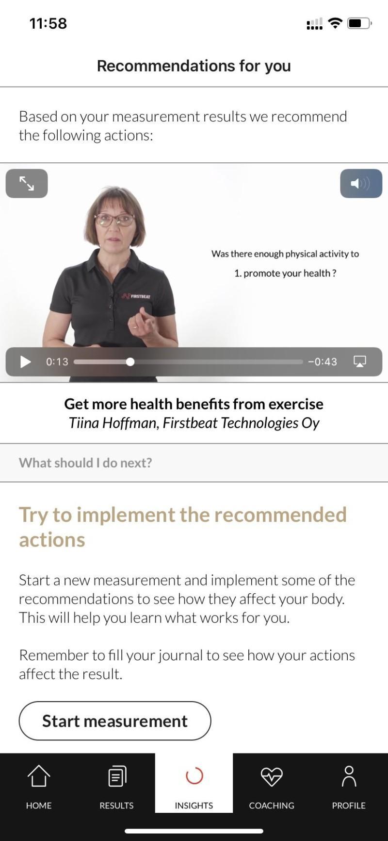 Video recomendations