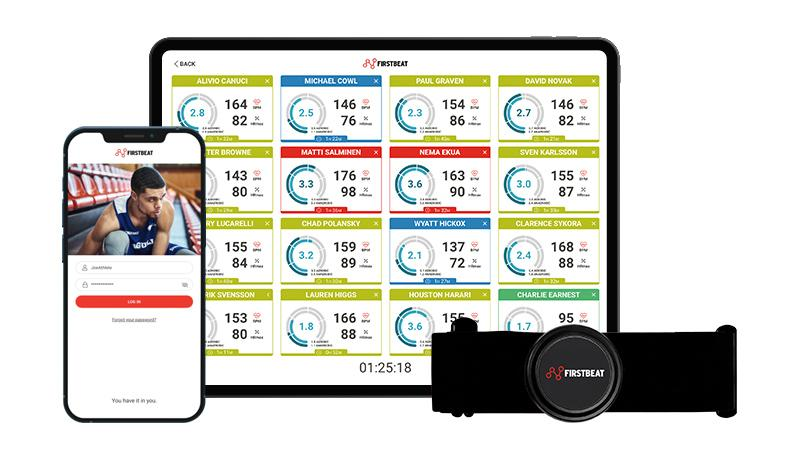 Firstbeat Sports Solution | Athlete Monitoring